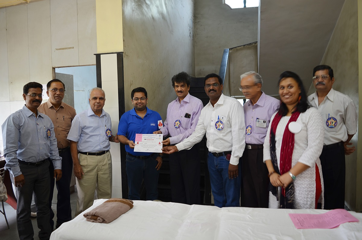 Blood Donation Camp organized by Connectwell